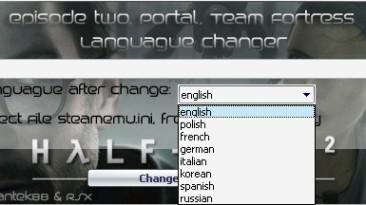 Half-Life 2: Episode Two Language Changer