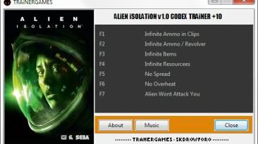 Alien: Isolation: Трейнер/Trainer (+7) [1.0] {TRAiNERGAMES}