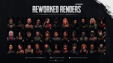 "Dead By Daylight ""3D портреты для Выживших (Rework) I 5.0.0"""