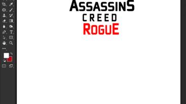 "Assassin's Creed: Rogue ""Шрифт для фотошопа и прочих редакторов"""