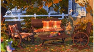 """The Sims 4 """"Autumn Garden"""""""