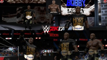 "WWE 2K17 ""Bobby Lashley The Hurt Business Наряд (Лицевая анимация) WWE 2K19 Порт мод"""