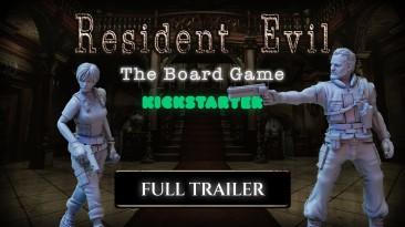 Вышел атмосферный трейлер к настольной игре по мотивам Resident Evil, демонстрирующий геймплей