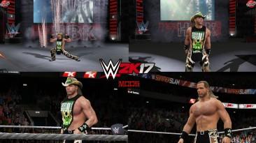 "WWE 2K17 ""Shawn Michaels DX 2009 Наряд (Лицевая анимация) WWE 2K19 Порт мод"