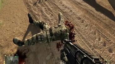 """Crysis """"Кровь и раны на трупах"""""""