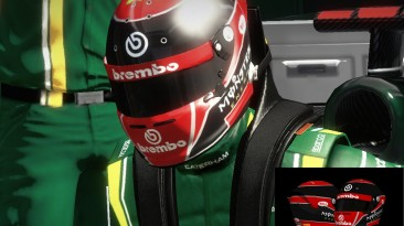 "F1 2012 ""Monster Energy Red Helmet"""
