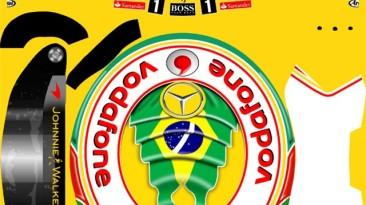 """F1 2011 """"Brasil Helmet pack`11[HD]"""""""