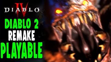 Стало доступно бесплатное демо фанатского ремейка Diablo 2