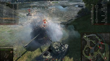 """World of Tanks """"Модпак Amway921 1.7.1.2"""""""
