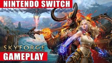 Запись игрового процесса версии условно-бесплатной MMO Skyforge для Switch