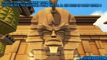 Crash Bandicoot 3 Warped - Получение трофея The Riddle of the Sphynx.
