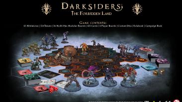 Подробности настольной игры Darksiders: The Forbidden Land