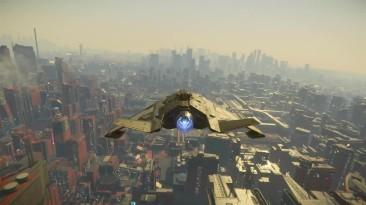 Star Citizen: планета-город ArcCorp, район Area 18