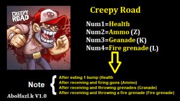 Creepy Road: Трейнер/Trainer (+4) [1.0] {Abolfazl.k}