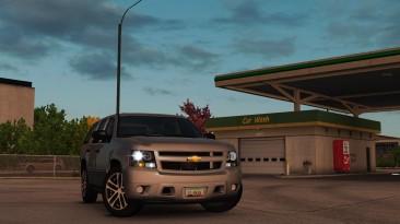 "Euro Truck Simulator 2 ""Chevrolet Tahoe 2007 v3.0 (1.40.x)"""
