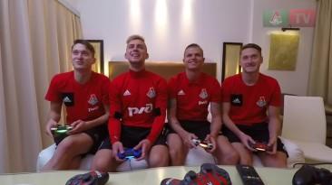 Много голов и троллинга - Тарасов, Баринов, Миранчуки сыграли в FIFA18!