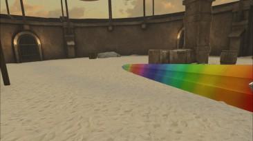 """Blade and Sorcery """"Мод Rainbow Sword"""""""