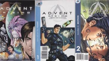 "Advent Rising ""Комиксы по мотивам игры (RUS/ENG)"""