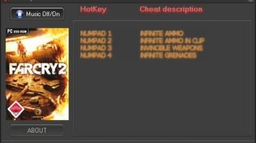 Far Cry 2: Трейнер (+4) [1.0] {l0wb1t}