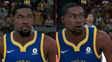 NBA 2K18 - Сравнение PC 4K Low vs. Ultra (Candyland)