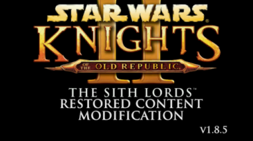 """Star Wars: Knights of the Old Republic 2 - The Sith Lords """"Русификатор текста + TSLRCM (русская версия)"""""""