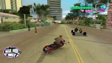 Что будет если ввести все чит-коды В GTA Vice City?
