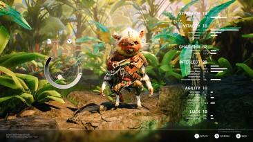 Редактор персонажей на новых скриншотах Biomutant