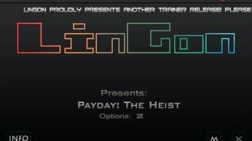 Payday ~ The Heist: Трейнер/Trainer (+4) [1.16.0] {LinGon}
