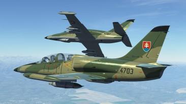 """DCS World """"L-39ZA: ВВС Словакии"""""""