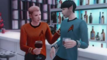 """The Sims 4 """"Напитки из сериала """"Звездный путь"""""""