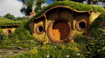 Как может выглядеть Шир из Властелина Колец на Unreal Engine 4