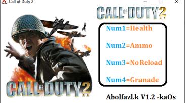 Call of Duty 2: Трейнер/Trainer (+4) [1.2] {Abolfazl.k}