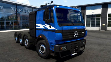 "Euro Truck Simulator 2 ""Mercedes-Benz SK 8x4 Add-on by Aryan v1.0 (1.40.x)"""