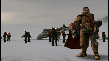 Dawn of War - Dark Crusade. Начало компании за космодесант