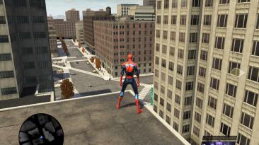 "Spider-Man: Web of Shadows ""Кинематографичная графика"""