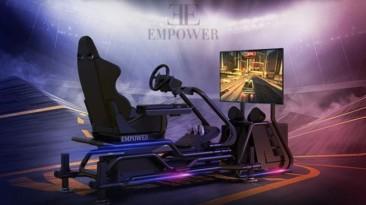 GT Racer - 4-х осевой гоночный симулятор для полного погружения