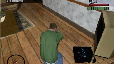 "Grand Theft Auto: San Andreas ""Скин консоли PS 2"""