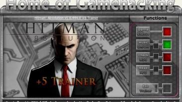 Hitman ~ Absolution: Трейнер/Trainer (+5) [1.0.447.0] {sILeNt heLLsCrEAm / HoG}