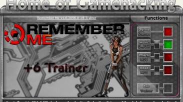 Remember Me: Трейнер/Trainer (+6) [1.02 / Update 2] {sILeNt heLLsCrEAm / HoG}