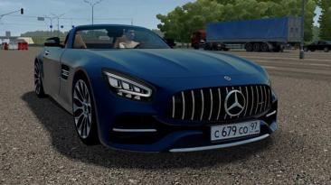 "City Car Driving ""Mercedes-AMG GT C Roadster (v1.5.9.2)"""