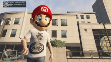 "Grand Theft Auto 5 ""Маска Super Mario"""