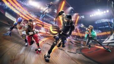 В сеть слили ролик и промо изображение Roller Champions - новой игры Ubisoft наподобие Rocket League