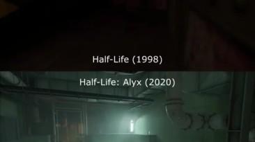 Фанаты выяснили, что свет в Half-Life: Alyx мерцает точно так же, как в первой Half-Life и Quake