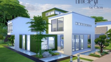 """The Sims 4 """"Дом limelicht modern"""""""