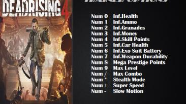 Dead Rising 4: Трейнер/Trainer (+14) [1.0] {ArmY of 0n3}