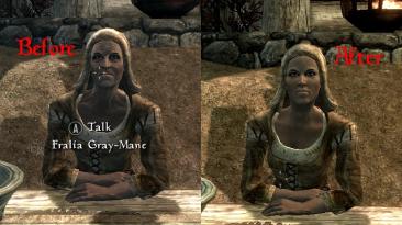 """Skyrim """"Слегка омоложенные пожилые персонажи"""""""
