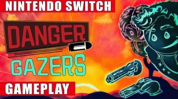 Видео игрового процесса Switch-версии Danger Gazers