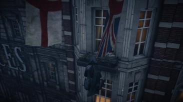 "Assassin's Creed: Syndicate ""Забавный баг с летающим ассасином"""