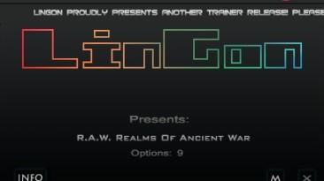 R.A.W. - Realms of Ancient War: Трейнер/Trainer (+9) [1.0] {LinGon}