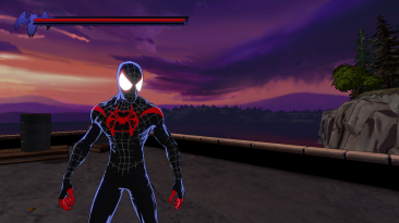 """Spider-Man: Shattered Dimensions """"Miles Into the Spider Verse Suit v1.1"""""""